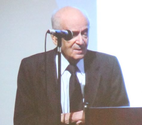 Holocaust Surviver Shares His Story