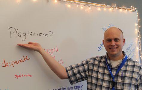 Language Arts Teacher Christopher Doss