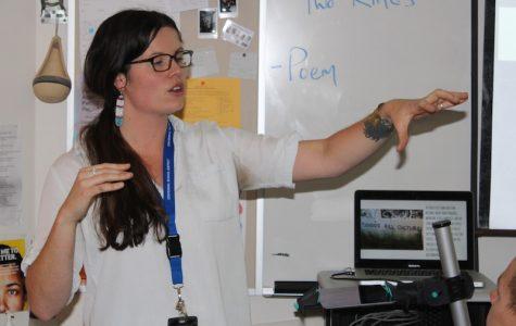 Language Arts Teacher Julia Kirkpatrick