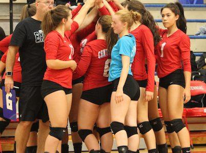 Volleyball Breaks Losing Streak