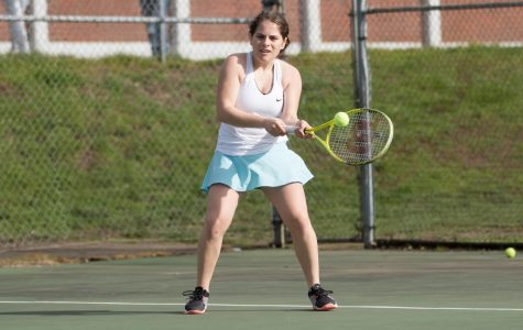 Tennis Rallies Toward Districts