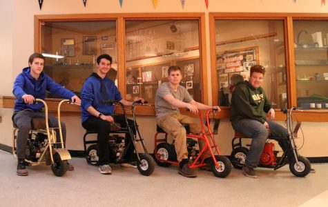 Watts Provides Opportunity For Students To Build Their Own Mini Bike