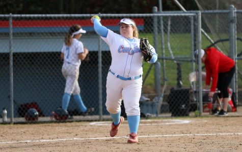 Softball Seeks First League Win Tonight