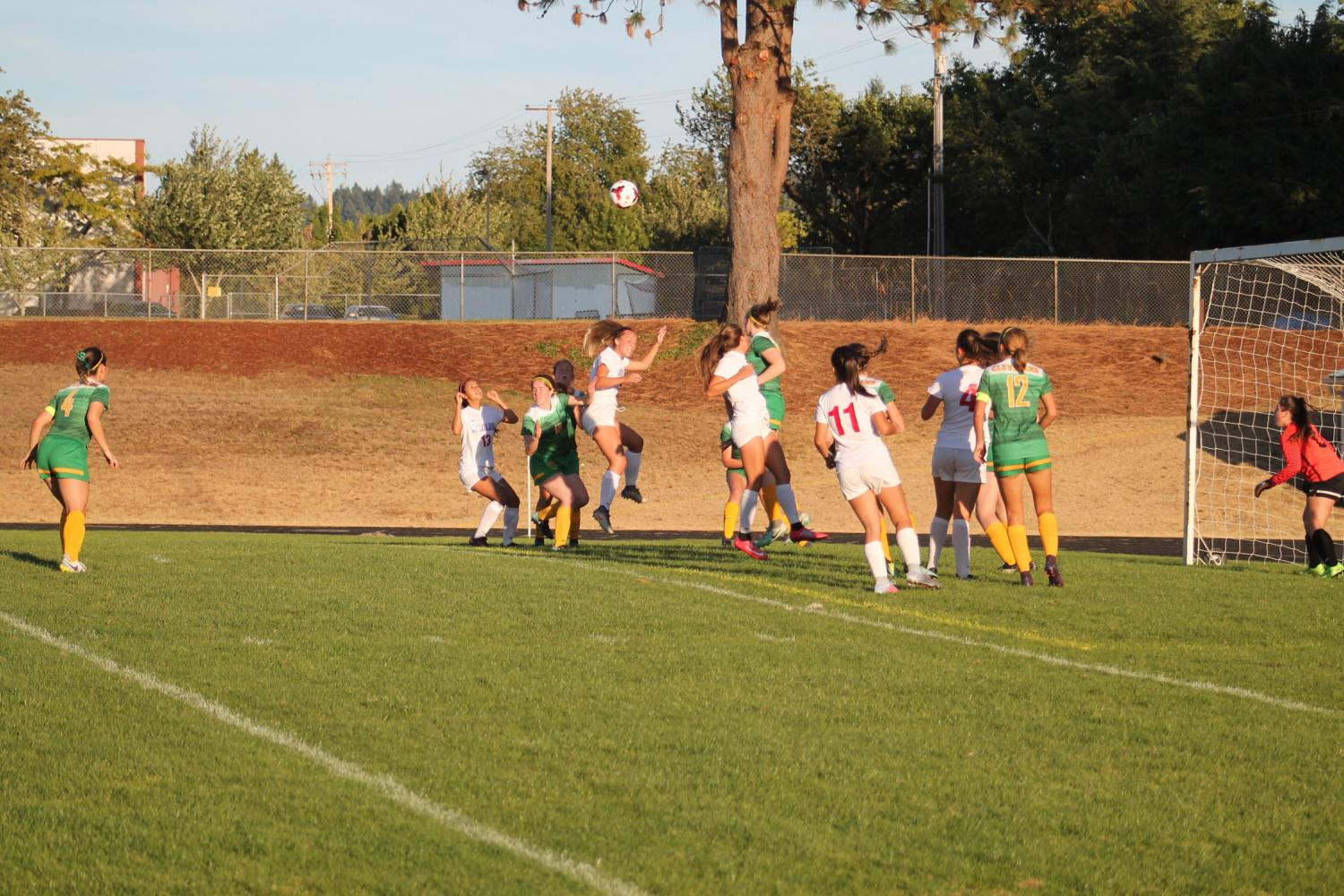 Girls Soccer Ties Tigard 4-4 Last Night