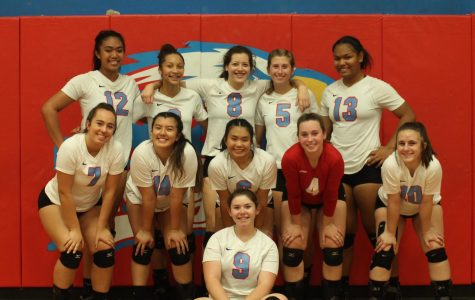 Volleyball Loses To Rams In Straight Sets