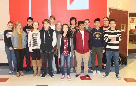 Speech Team Conquers District Tournaments