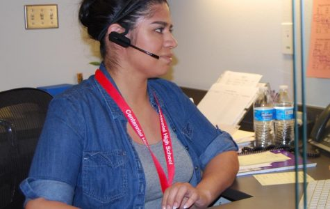 CHS Welcomes Martinez To Attendance Role