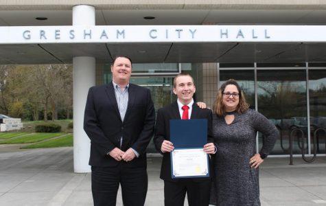 Koll Wins Outstanding Young Citizen Award