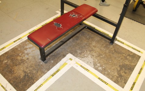 A small look at one bench in the weight room.