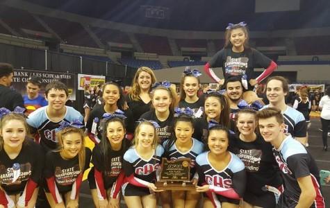 Centennial High School Varsity Cheer Team