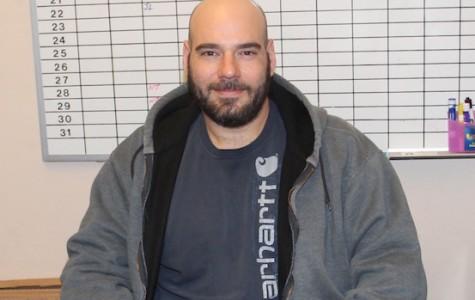 Custodian Matt Moccardine.