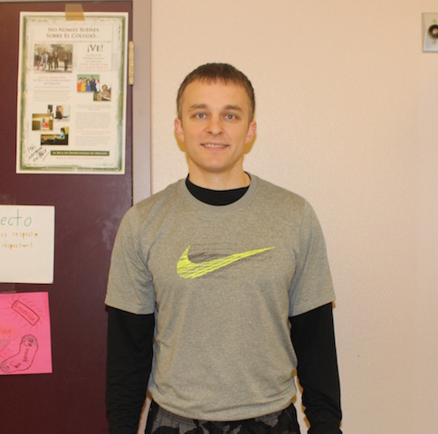 Boys Tennis Head Coach Alex Grandjean.