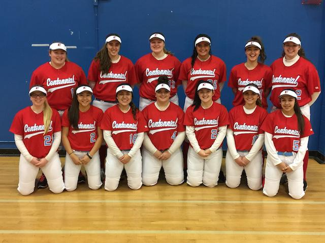 Varsity softball team.