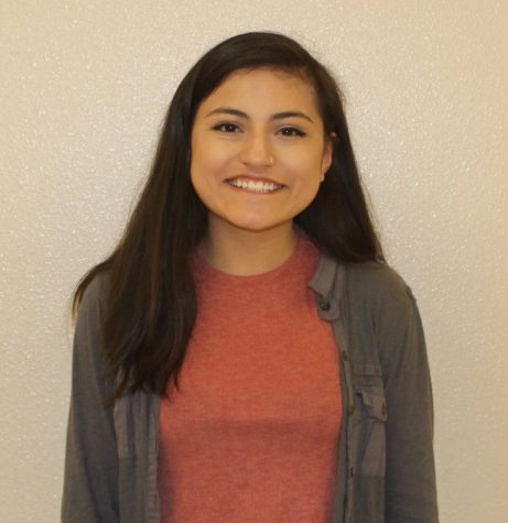 """I want to be your next ASB president because I have the experience and drive to lead the school and its events to the quality our students deserve."" -Maria Fuentes"