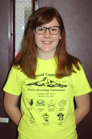 Sophomore Madison Seingler.