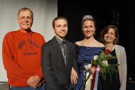 (Dad) Tim Ramstad, (brother) Will Ramstad, Grace Ramstad, and (Mom) Rita Ramstad.
