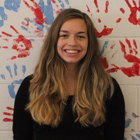 Yearbook editor, Sophie Vawter.