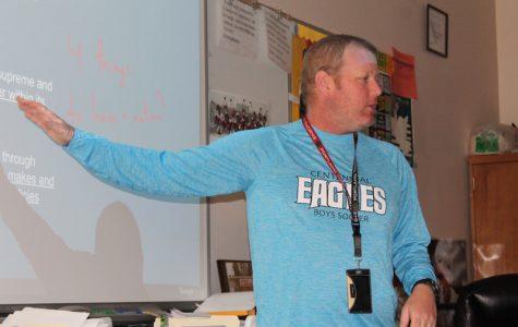 Rosenblad teaches class.