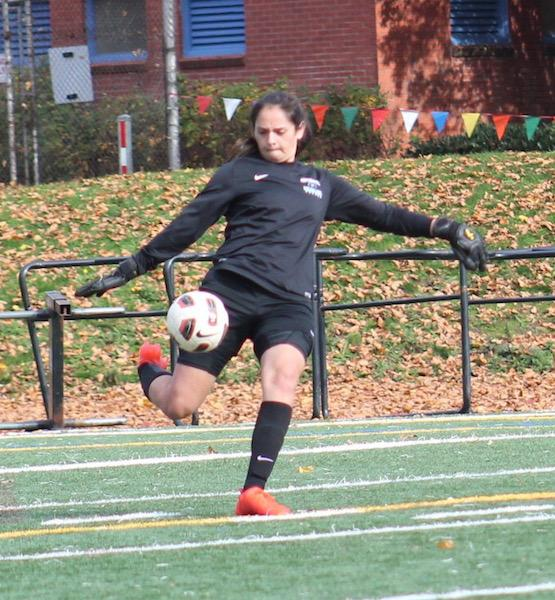 """""""It was a great season to end on my career. We improved a lot as a group. We were all really close,"""" said senior and four year varsity goal keeper Alyssa Guthrie."""