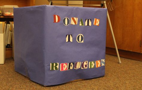 Students can donate their items to this box