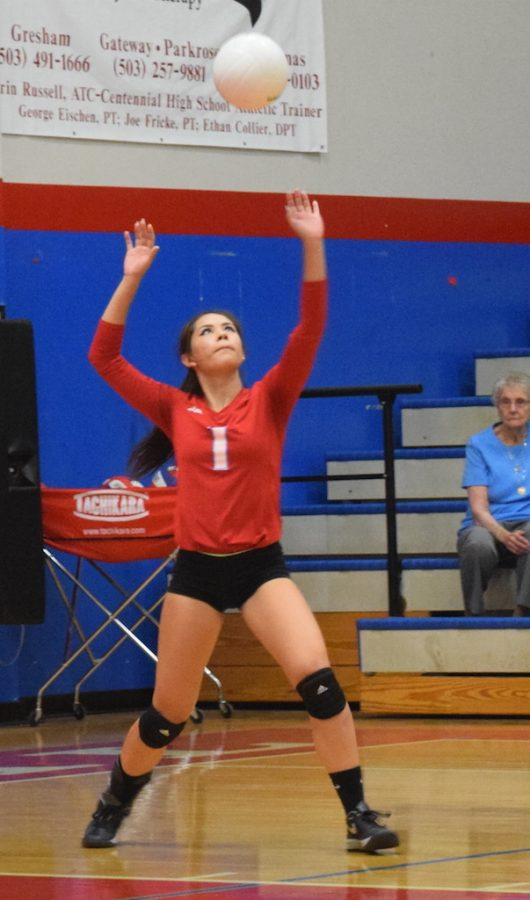 """""""It wasn't all about winning because we are a family,""""  said sophomore Trina Varney."""