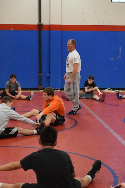 Roger Matthews has been coaching the Centennial wrestling team for a total of 14 seasons. Matthews' goal for this season is to compete at the highest and to make a run for districts.