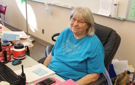 Study Hall and ISS adviser Grace Mccoy is happy with the recent efforts made in her class.