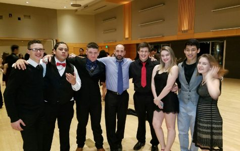 Bailey Sparks, Ihe Gonzales, Baseem Saad, Assistant Wrestling Coach Ehren Schneider, Alex Apling, Megan Cannard, Alejandro Carrillo, and Madison Seigler are all part of the