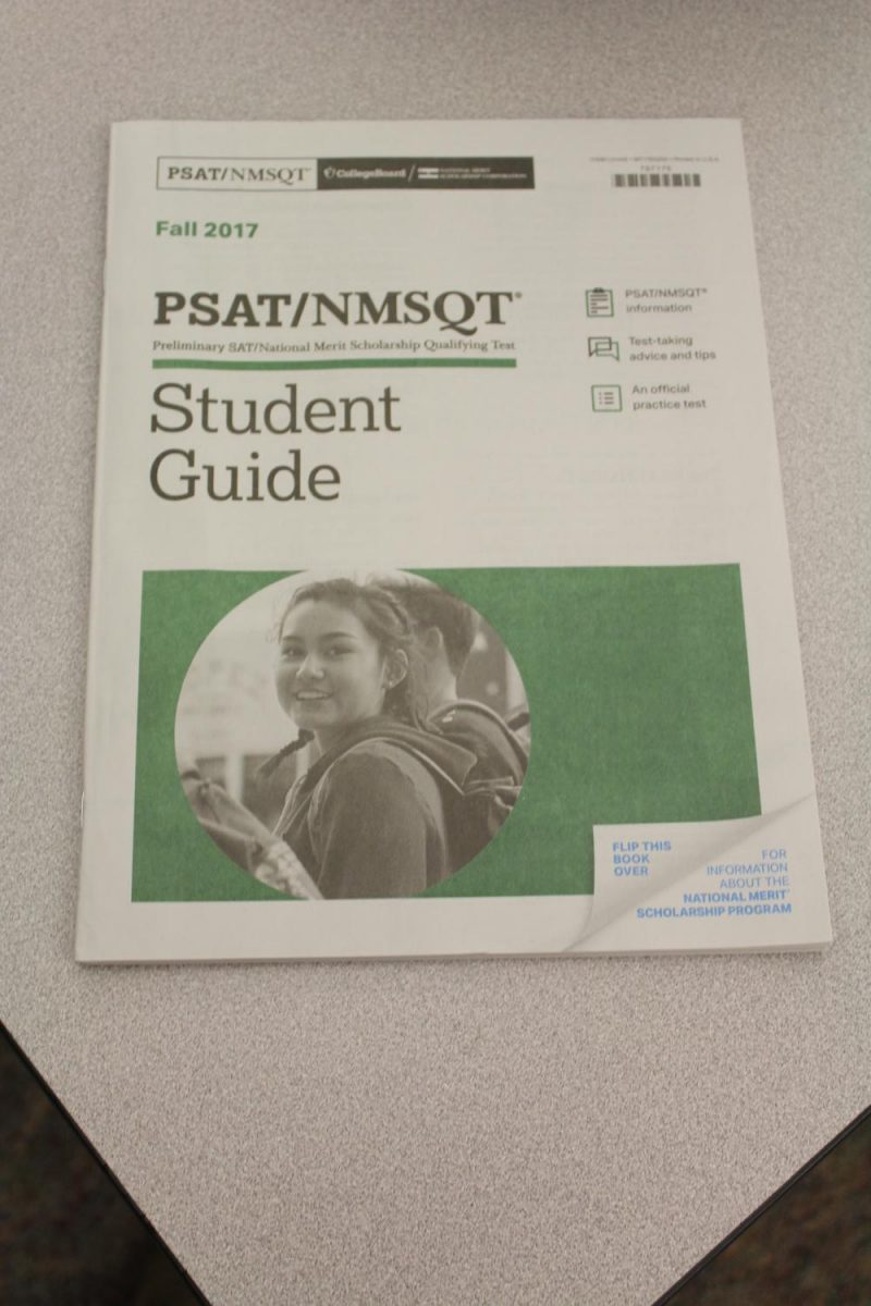 The PSAT study guide has been distributed to sophomore and juniors through their English classes.
