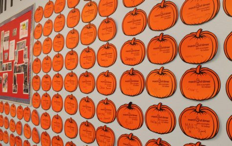 FBLA Sells Pumpkins To Support March of Dimes
