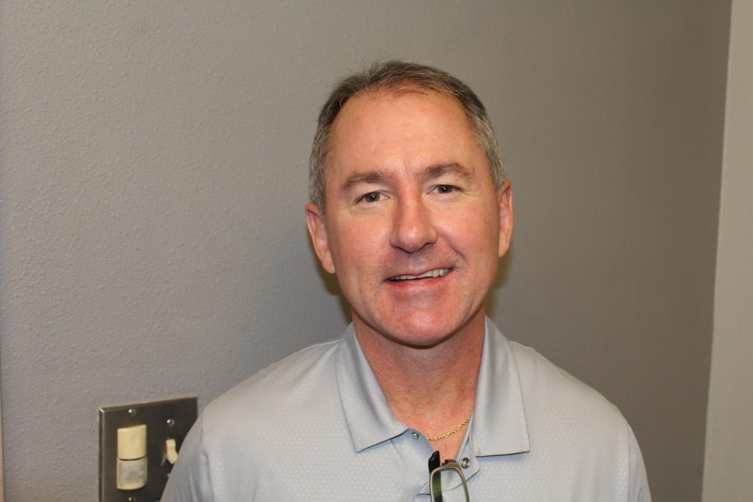 Athletic Director Brent Child