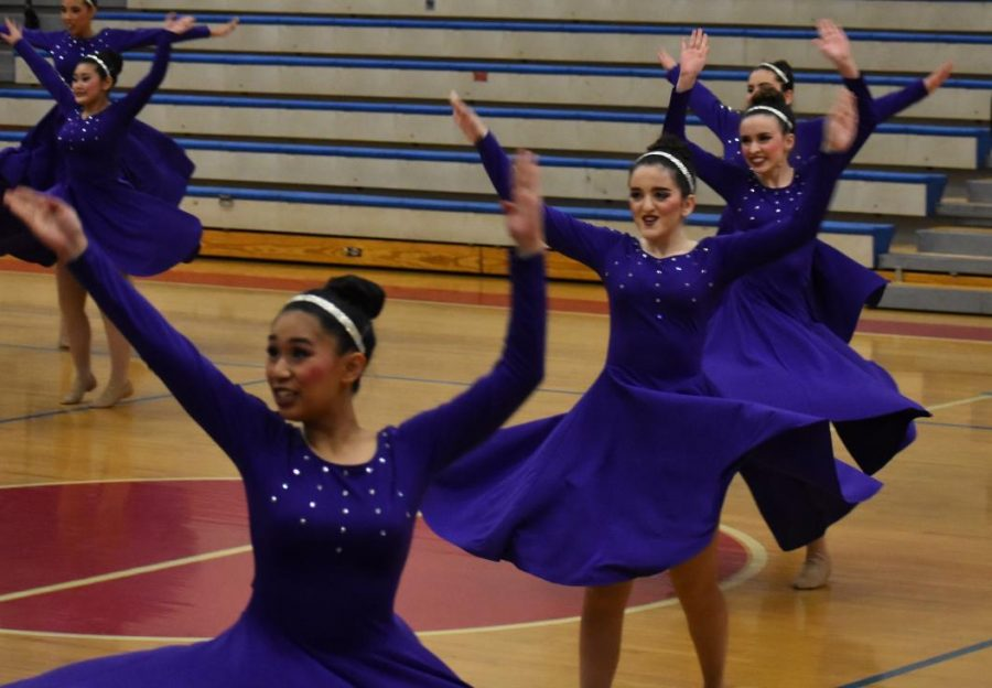 The Hi-C's perform on March 3rd at the Metro Dance Festival in preparation for their state competition. Annie Ellett was very proud of how they performed at state.
