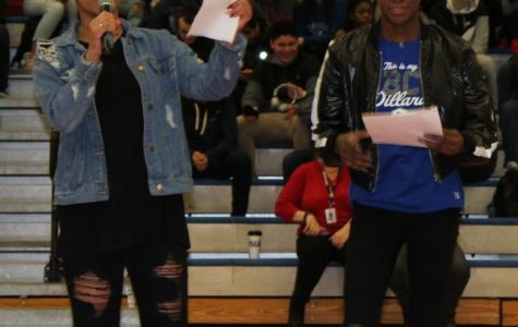 First Black History Assembly Fills Gym