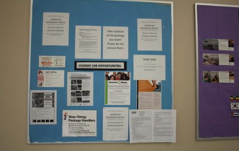 Jobs Board Shows Many Current Openings