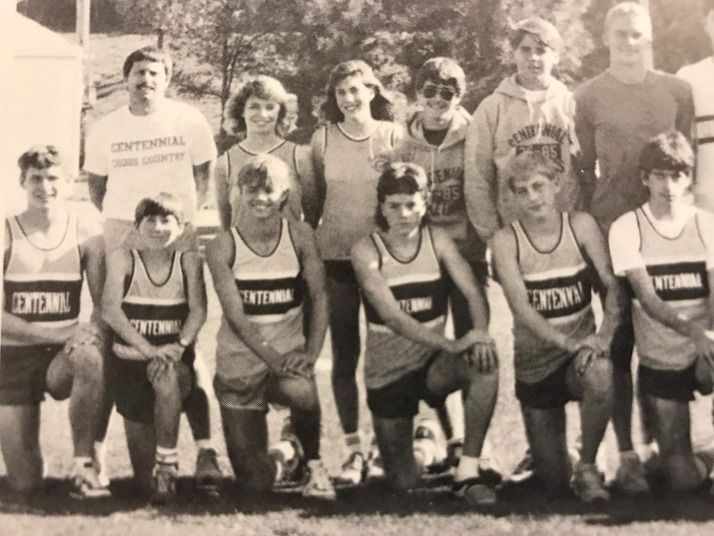 Top left corner Greg Letts 1987