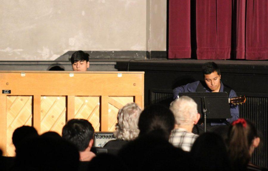 Abisai Herrejon-Gonzalez and Salvador Lopez perform