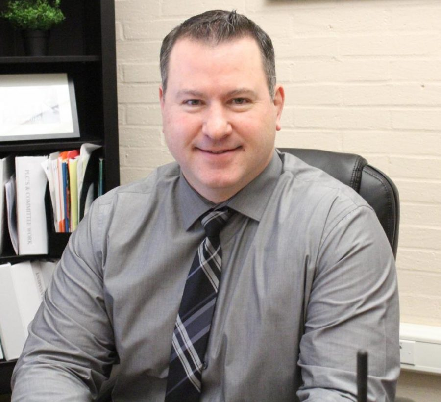 New assistant principal Terrance Schloth makes attendance a priority.