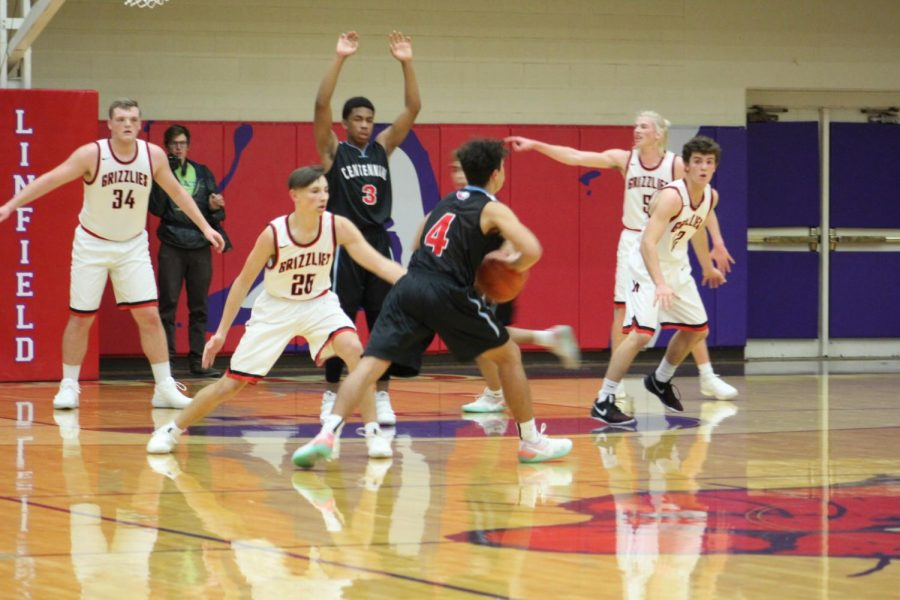 CHS Boys Basketball at Sandy.