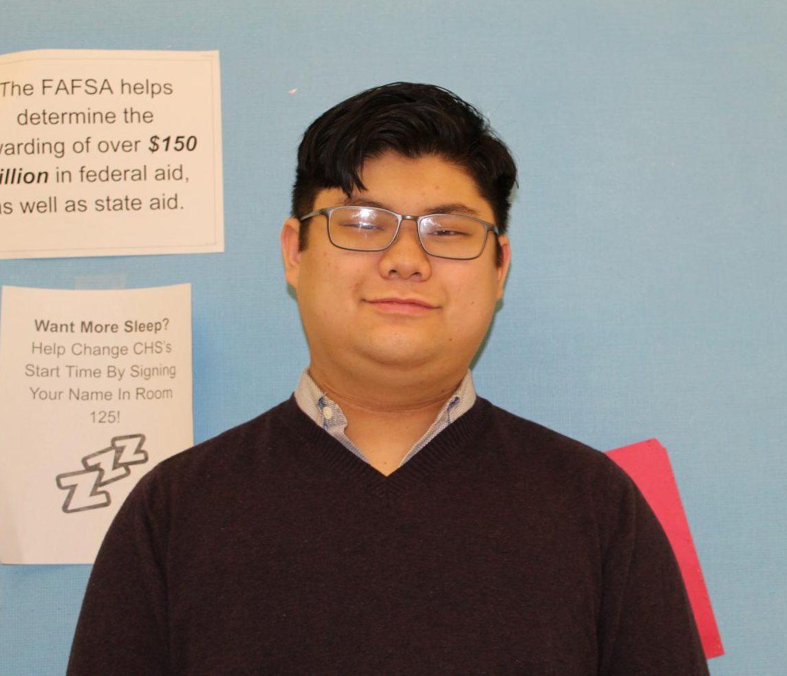 Brad Le, senior.