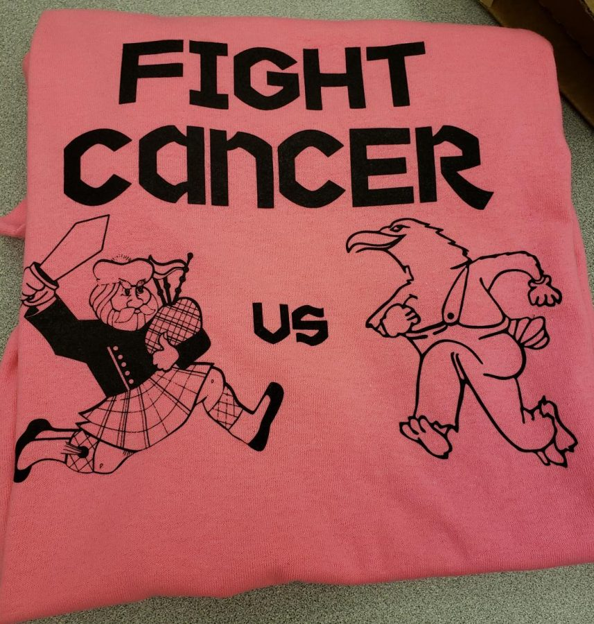 Friday's Games Support Cancer Awareness, Wear Pink!