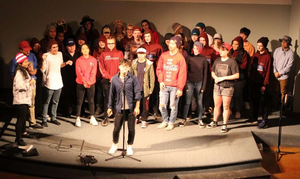 The CHS choir sings at their retreat November 16-18. The choir has many events coming up in the spring.