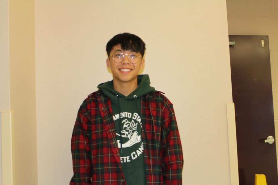 Timothy Fu, senior.
