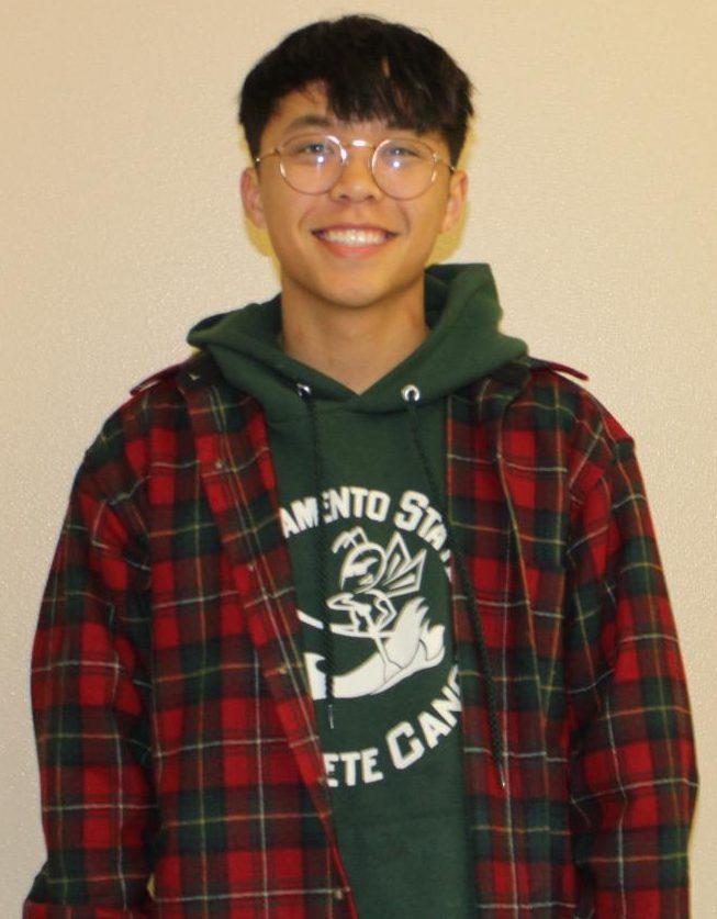 Timothy Fu, senior.