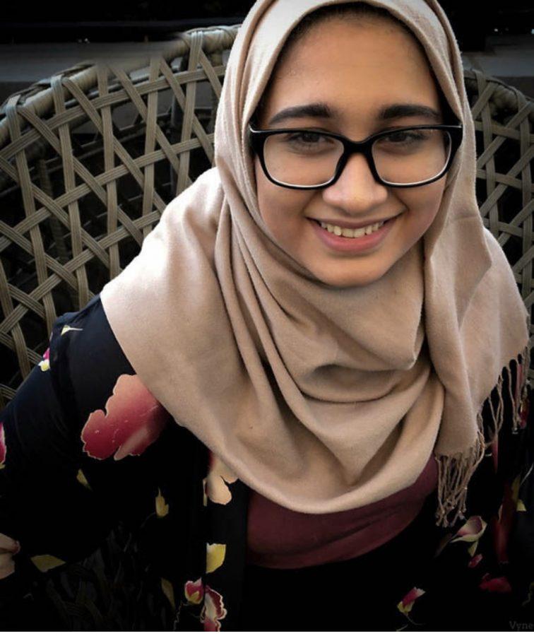 Senior Sarah Ali.
