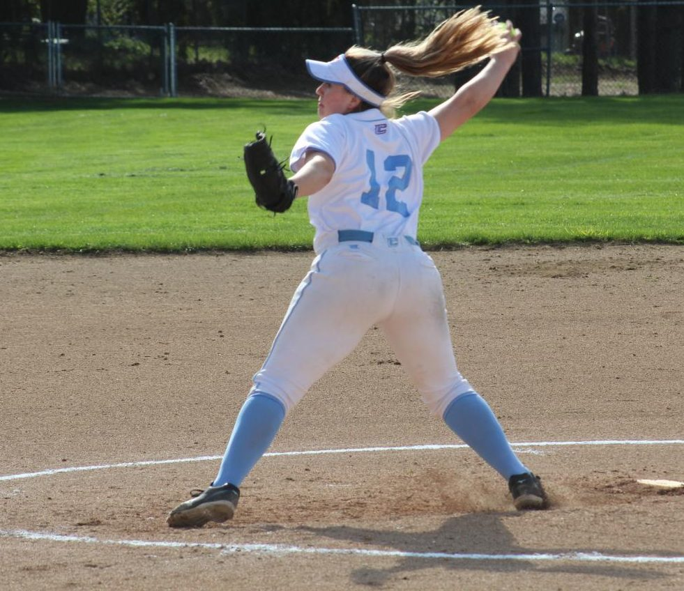 Charlotte Marcum plays last year in a game.