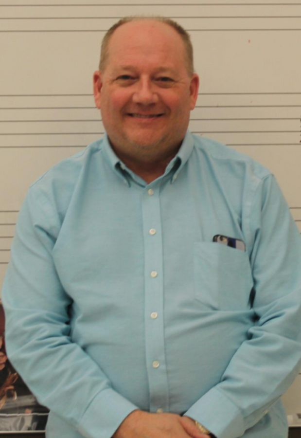Band Instructor Tim Wells.