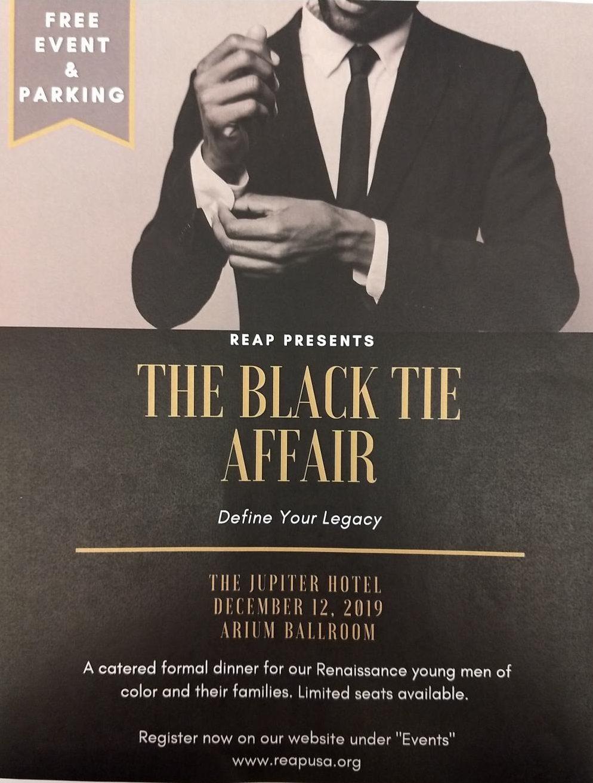 REAP Hosts Black Tie Affair