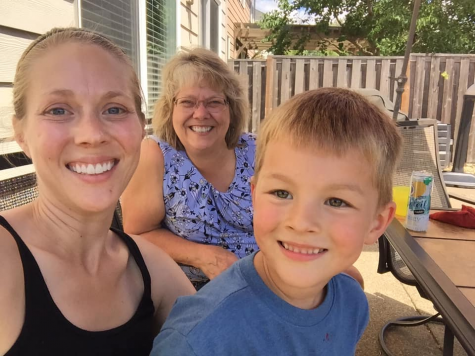 Tami Burton, Daughter Ashley and Grandson