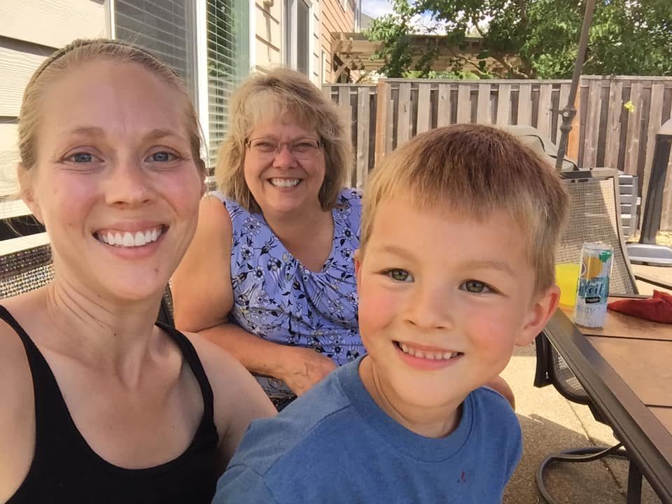 Tami Burton, Daughter Ashley and Grandson