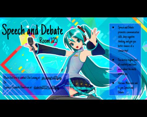 Speech and Debate Update